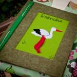 """Ein """"Freundebuch"""" als Abschiedgeschenk"""