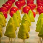Weihnachtliche Cake-Pops