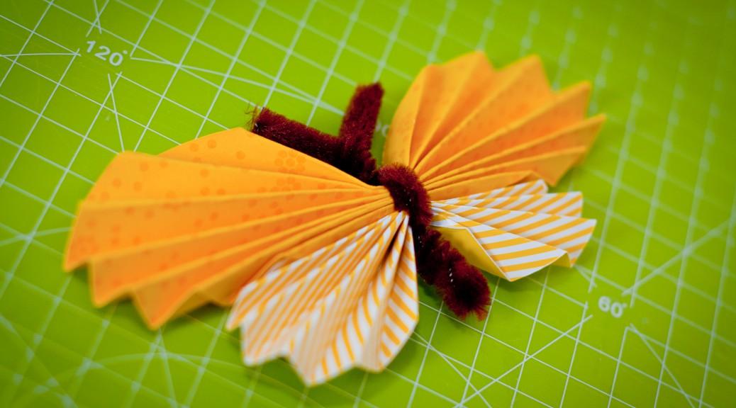 Papierschmetterlinge Unser Kreativblog