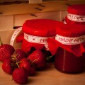 Leckere und fruchtige Erdbeermarmelade