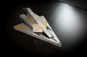 Raumschiff aus Holz - Ein Bastelprojekt mit den Kindern