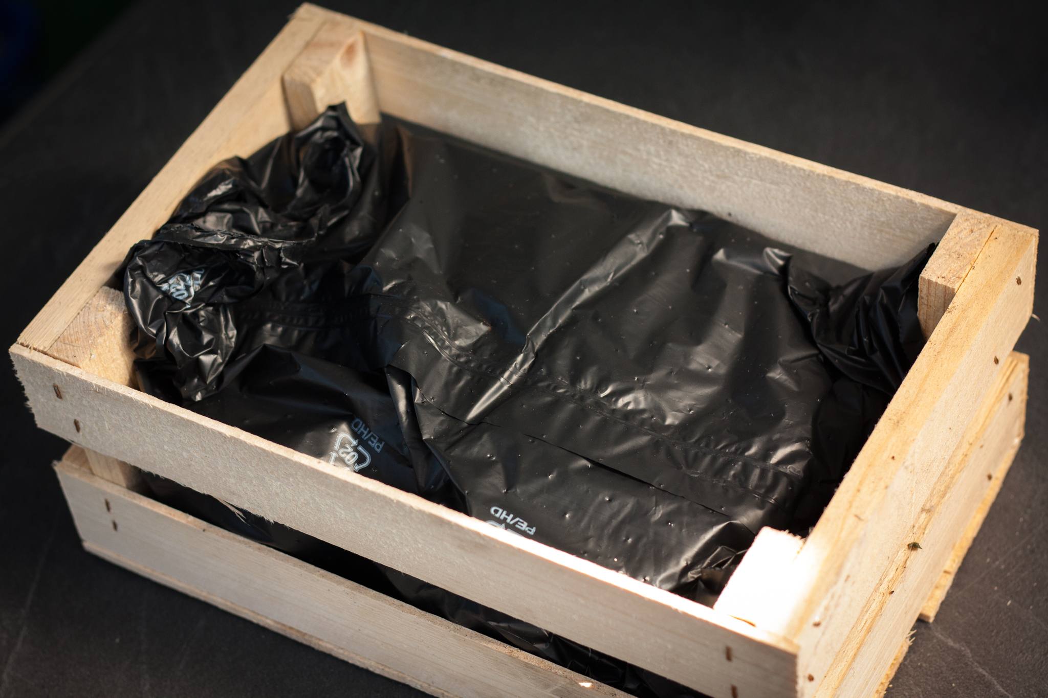 dehner gr nlinge garten aus der kiste unser kreativblog. Black Bedroom Furniture Sets. Home Design Ideas