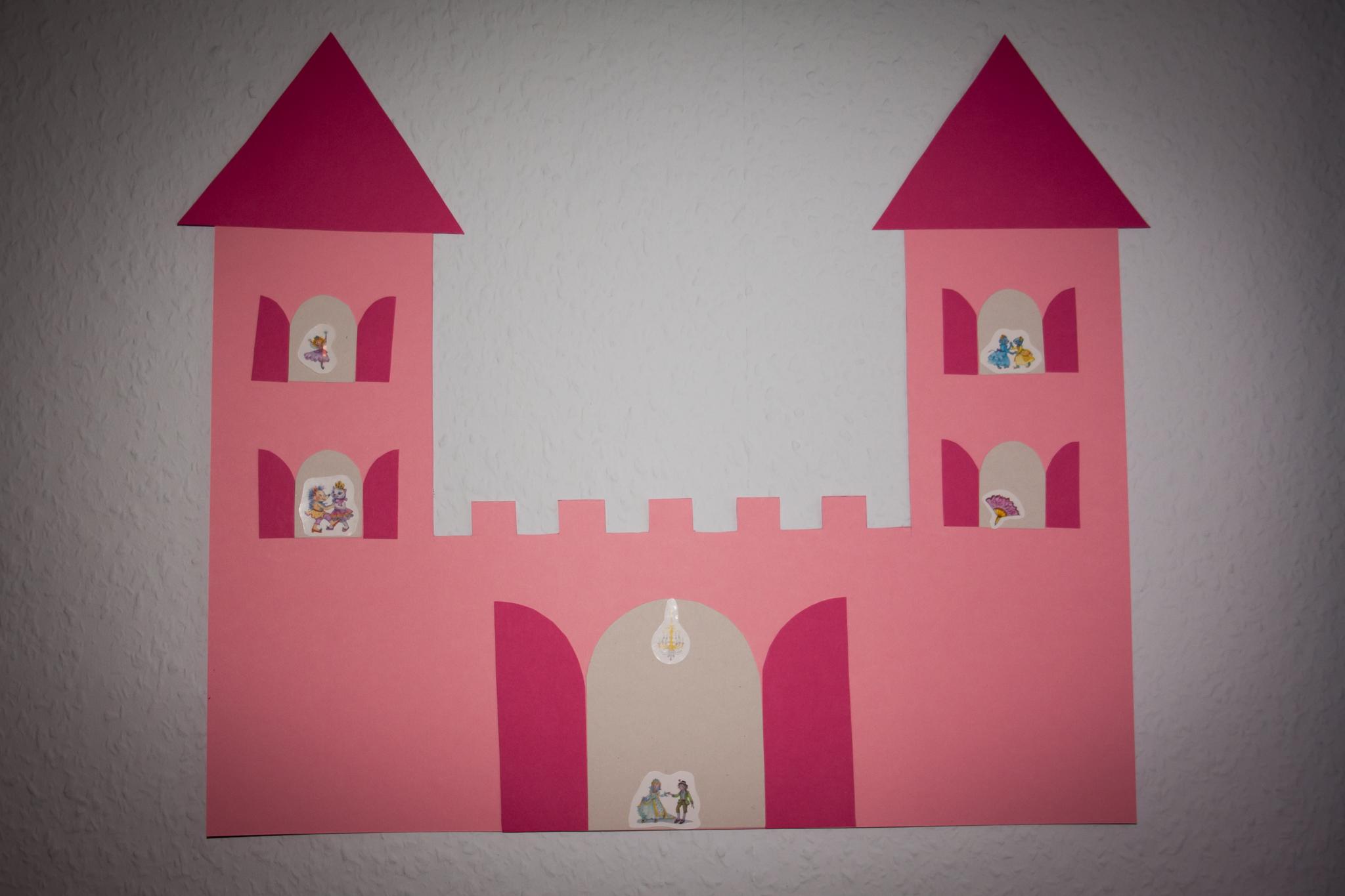 Bastelvorlage Ritterburg/Prinzessinnenschloss | Unser ...
