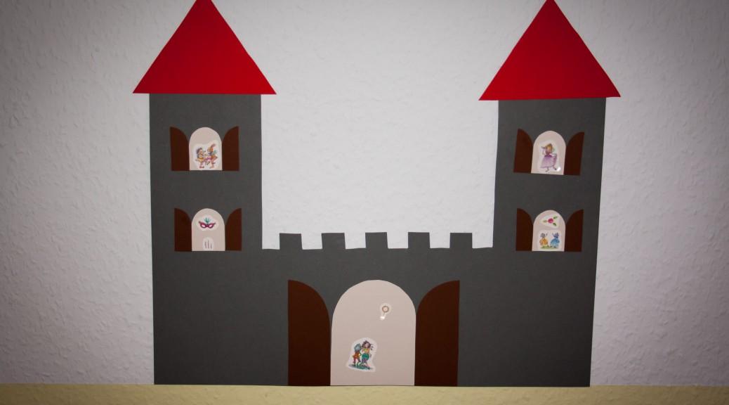 Bastelvorlage Ritterburg/Prinzessinnenschloss