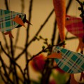 Schnell gebastelte Osterdeko: Küken aus Karton