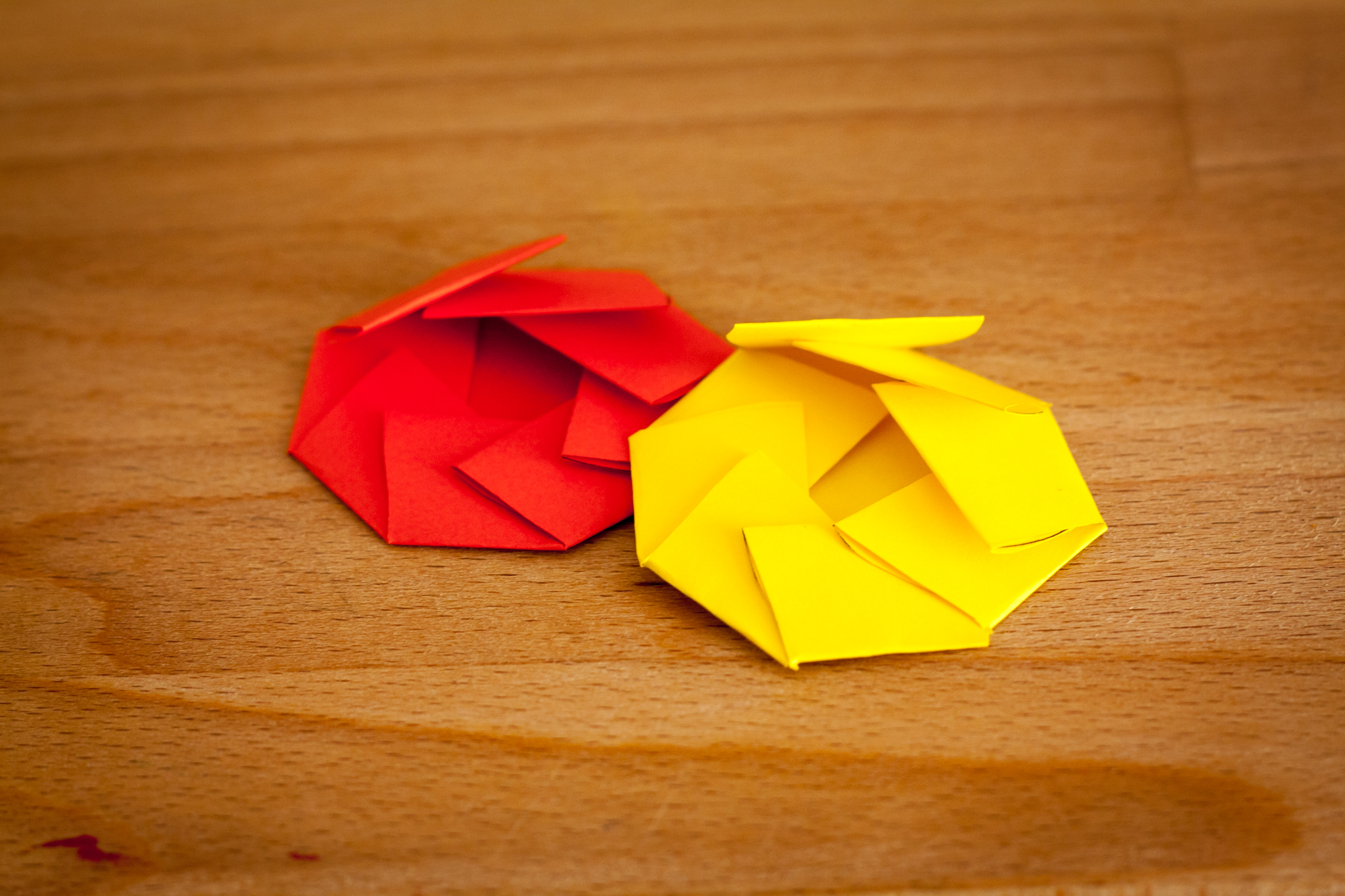 Papierseerosen Selbstgebastelt Unser Kreativblog