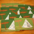 Einladungskarte Zeltplatz Bastelvorlage für Outdoor Kindergeburtstag