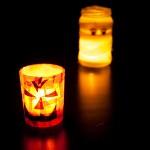 """Dekopatch Windlich """"Kürbis"""" zu Halloween"""