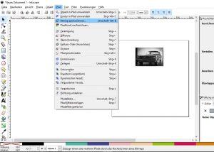 Bild in eine Plotterdatei umwandeln - Bitmap-nachzeichnen