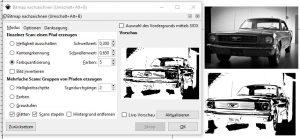 Bild in eine Plotterdatei umwandeln - Vorschau Bitmap-nachgezeichnet