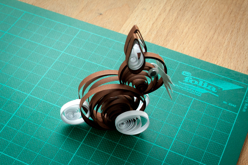 Quilling Osterhase