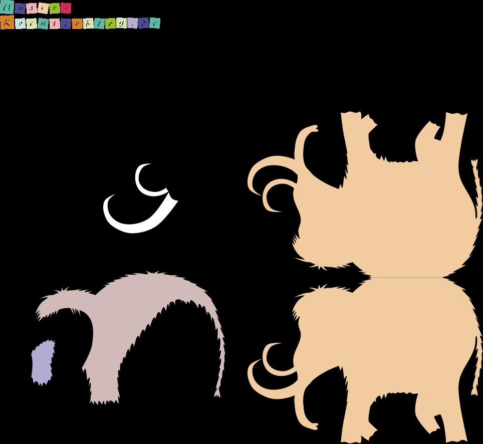 einladungskarte mammut als einladung zum steinzeitgeburtstag, Einladung