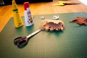 Einladungskarte Mammut - Einladung zum Steinzeitgeburtstag