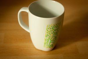 Porzellan beplotten – ein unerwartetes Ende