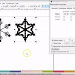 Inscape Plotterdatei erstellen - Schneeflocke - Objekt rotieren