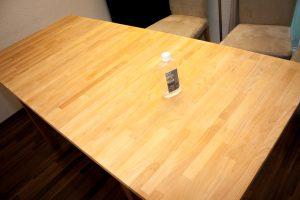 Projekt: Ikea Tisch Norden abschleifen - Das Ergebnis: Ein Tisch fast wie neu!