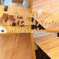 Projekt: Ikea Tisch Norden abschleifen