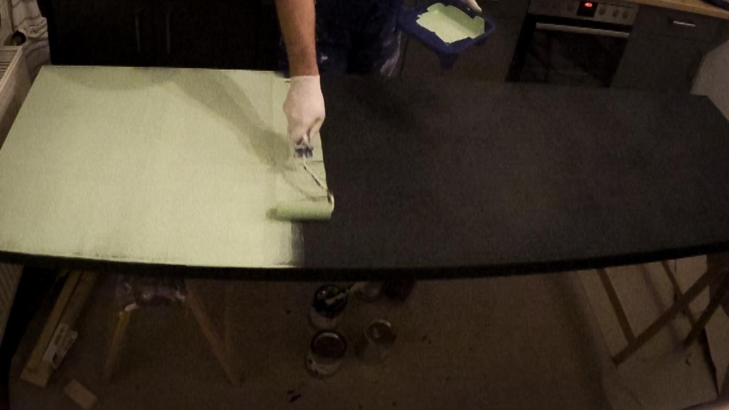 Favorit DIY – Eine helle und magnetische Tafel mit Eisenfarbe und FW29