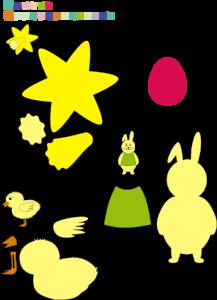 Schnelles DIY-Osterkörbchen mit Osterdeko