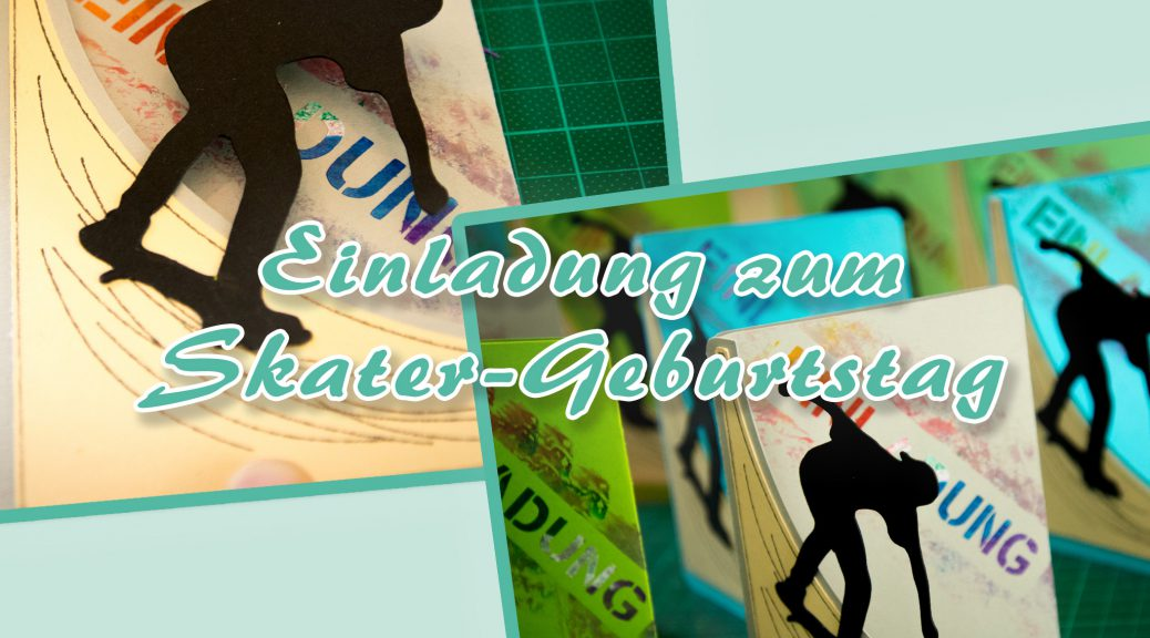 Einladung Skater-Geburtstag